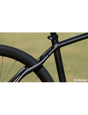 These seat stays are designed to dampen rough road surfaces…
