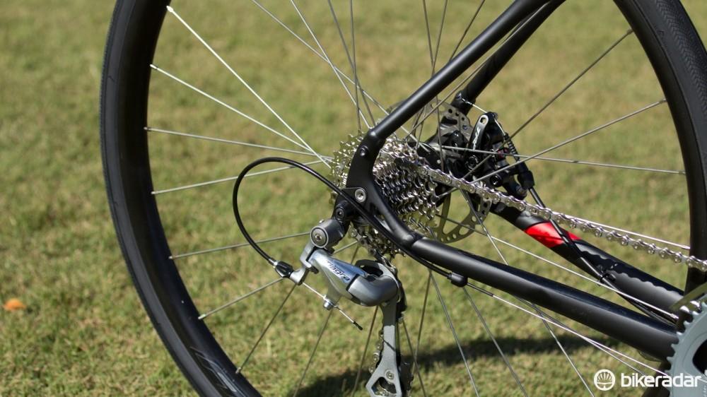 Rack/fender mounts and a huge gearing range ensure the Diverge's versatility