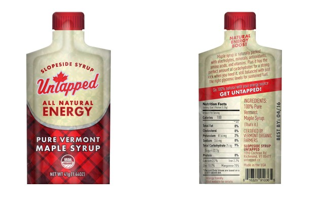 Ted King's UpTapped maple syrup gel is being crowdfunded
