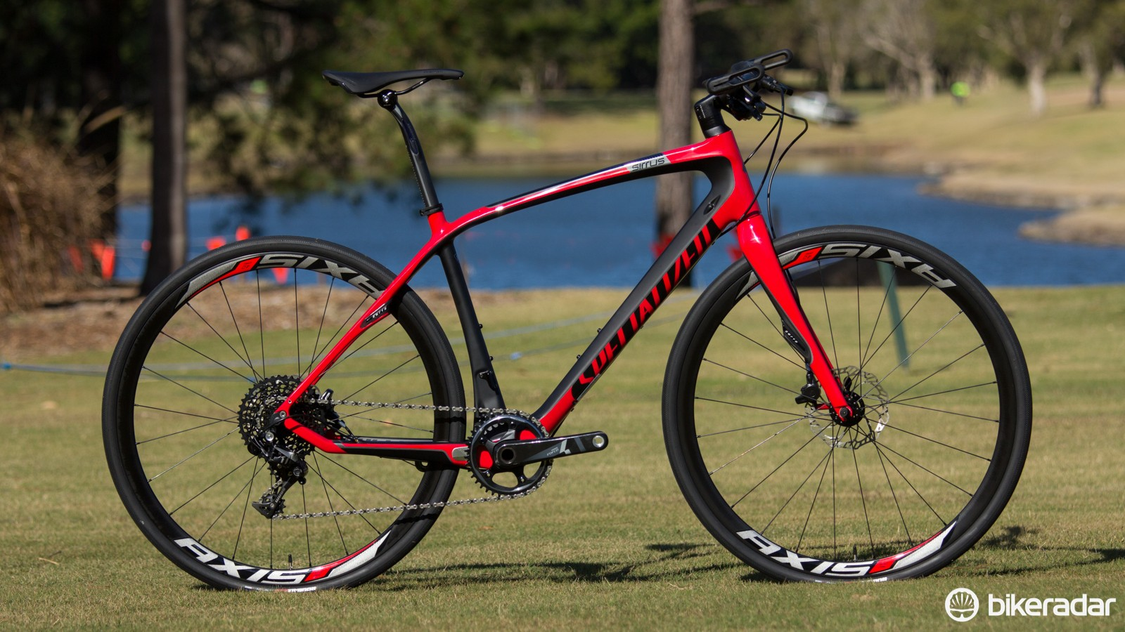 The Specialized Sirrus Pro Carbon Disc (US$TBC / AU$3,299 / £TBC) - all Sirrus Carbon models have a totally new frame for 2015
