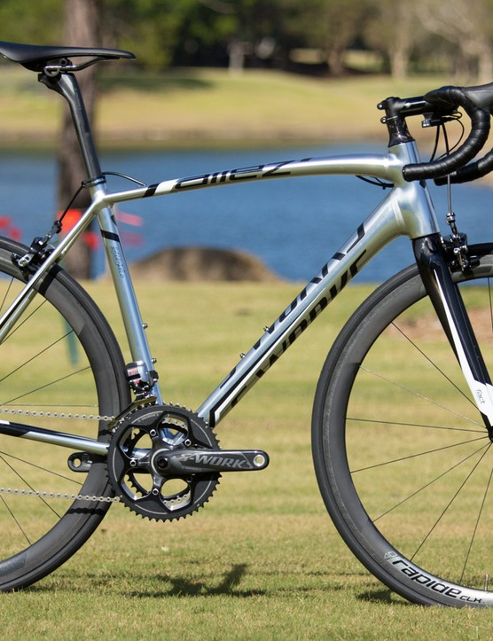 The 2015 S-Works Allez Di2 (US$TBC / AU$9,9999 / £TBC). We can't lie, we want one. Sure, it's borderline ridiculous for an alloy bike, but we think that's why it appeals so much