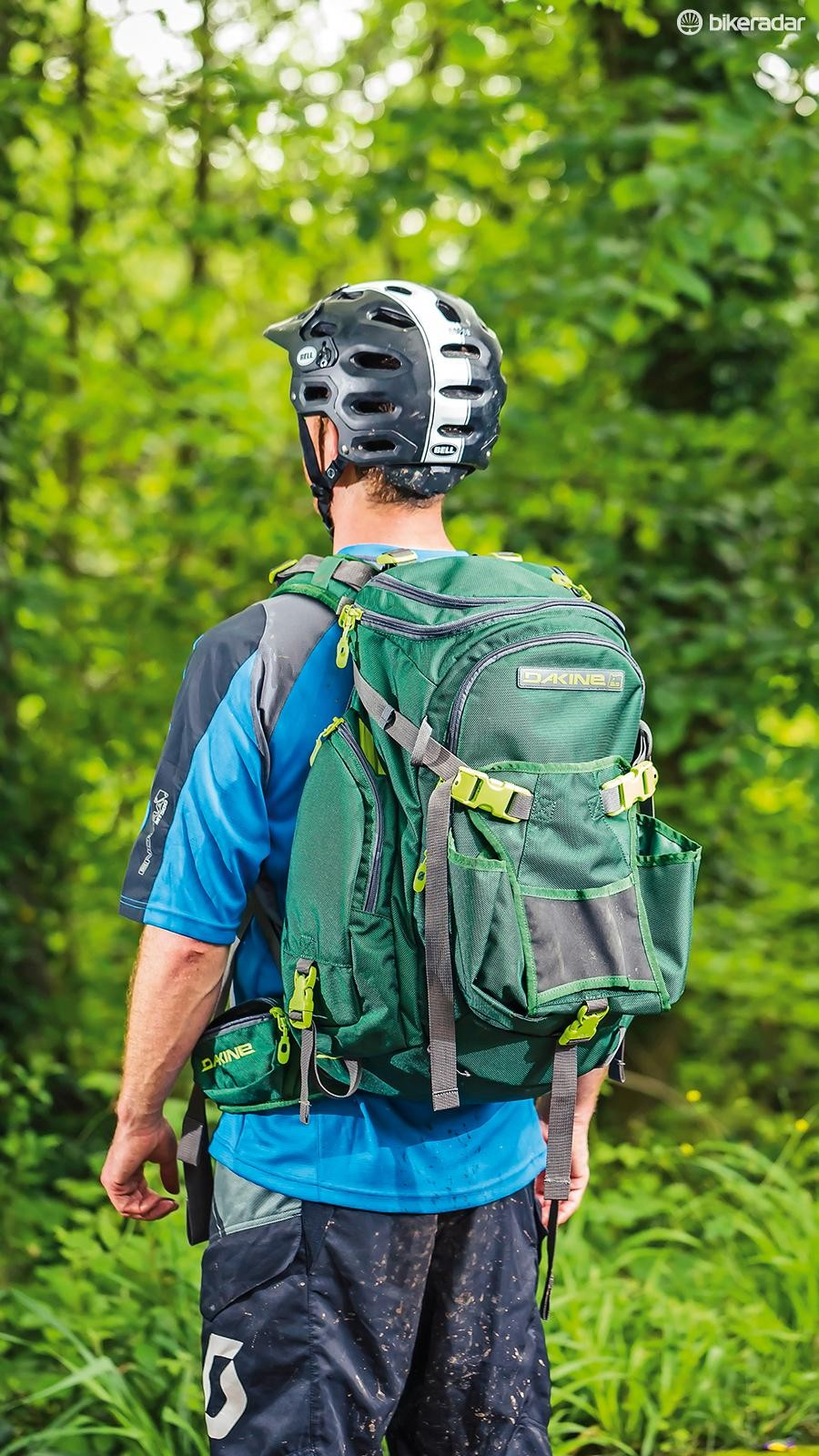 If you do find yourself heading into the woods packing a chainsaw, the Dakine Builders 29l pack will suit you down to the ground. For the rest of us it may be overkill