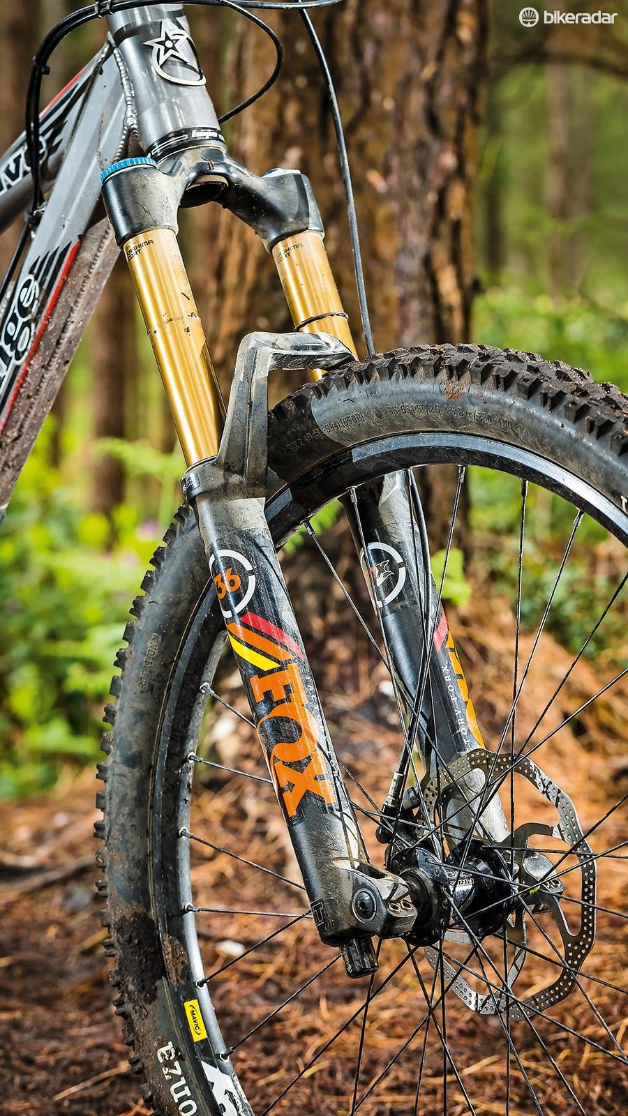 Fox 36 Float 160 FIT RC2 27.5 fork