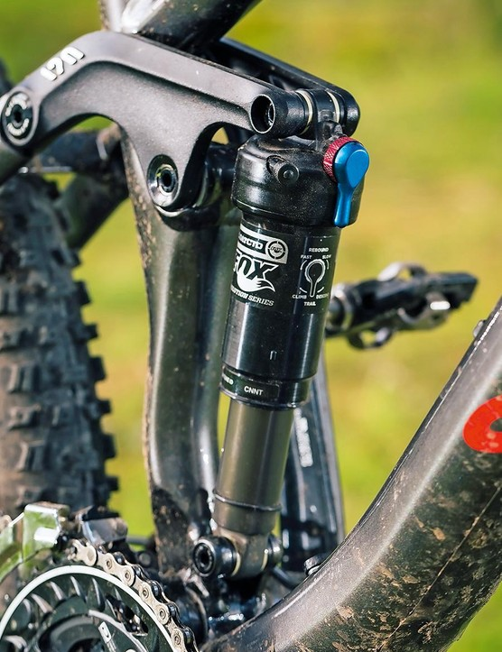 The Nerve 6.0's Evo spec Fox shock isn't perfect, but knocks spots off what most of the price-bracket competition come with