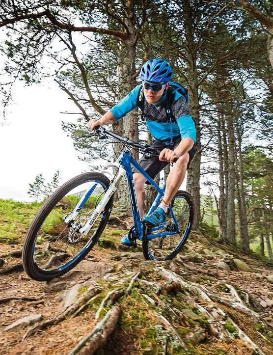 Trek's Superfly floats across rough trail sections