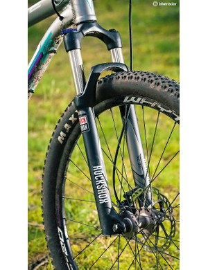 The 802's fork can be accurately tuned to any rider weight
