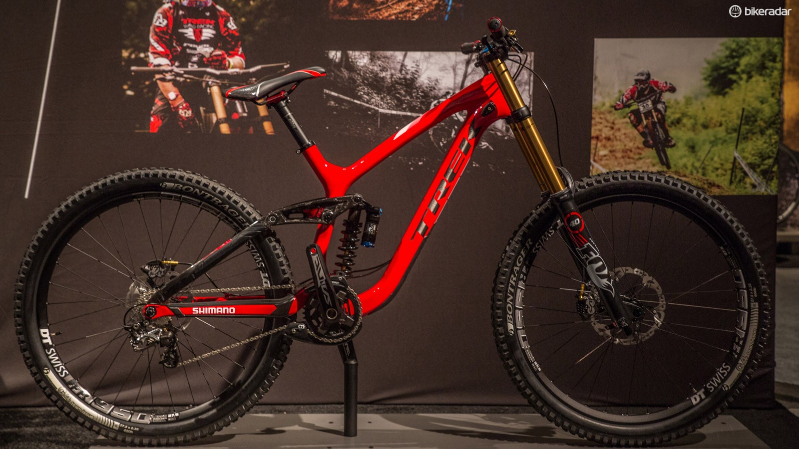 The Trek Session 9.9 gets a full carbon frame and a redesign around 27.5in wheels for 2015
