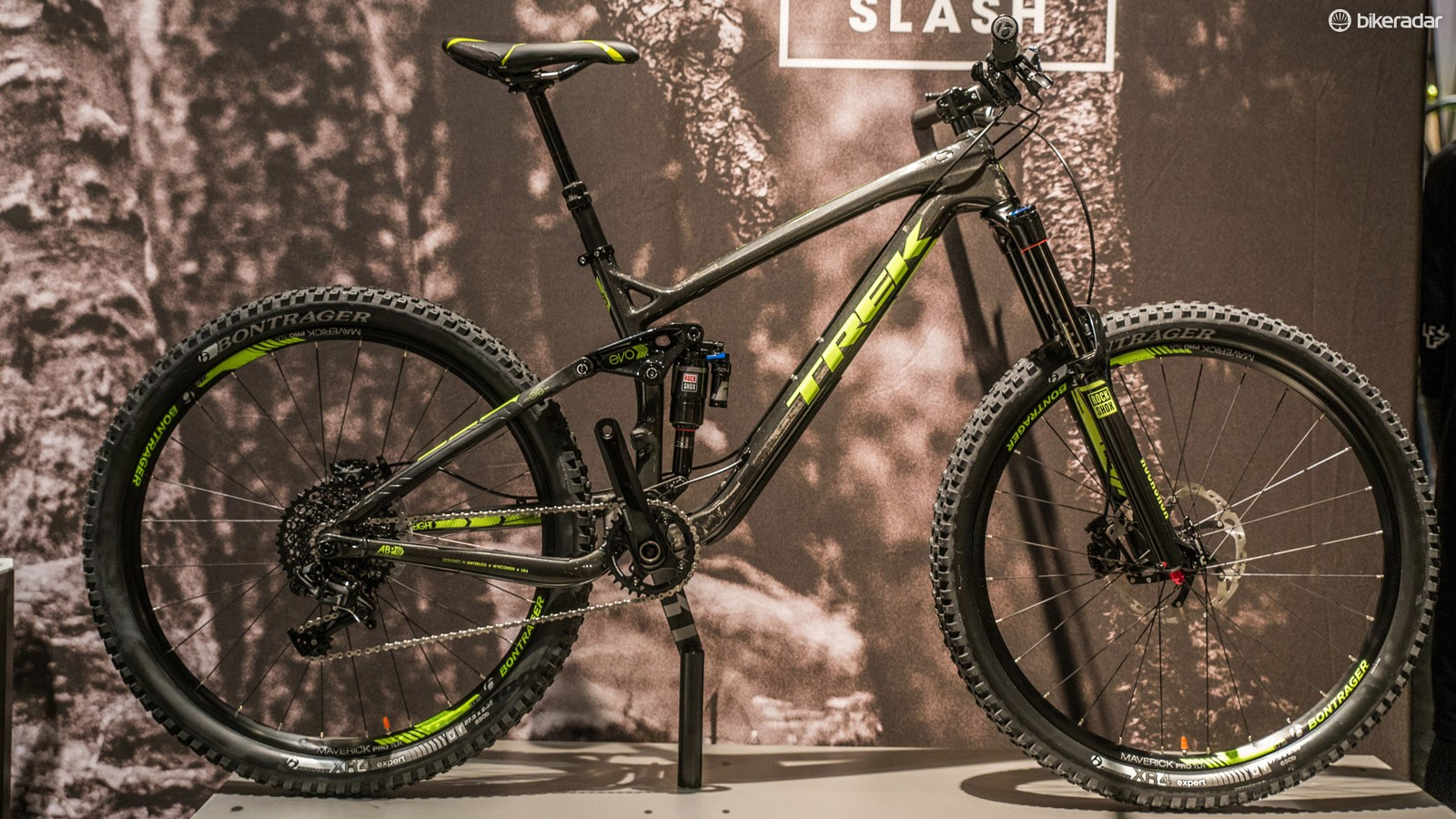 The Slash 9.8 also gets a carbon frame...