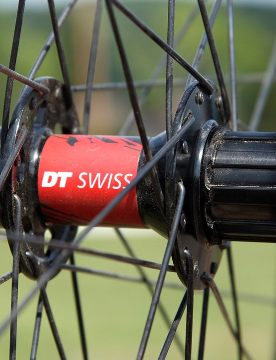The new DT Swiss Gravity wheels are built around lightweight 240s hubs