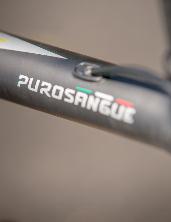 The claimed frame weight is a mere 630g –a sub-5kg build is therefore possible