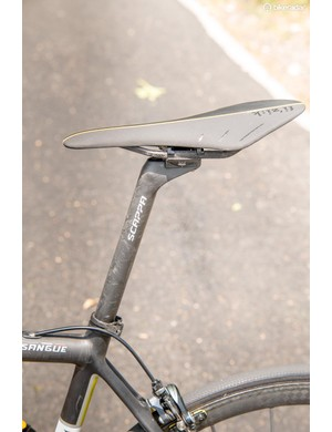 The compliant rear end ensures that your ego will be the only thing receiving a massage after a few hours in the saddle