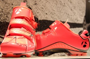 The RLXL US$284 MTB Limited shoes top Bontrager's off-road shoe line. The company calls the color