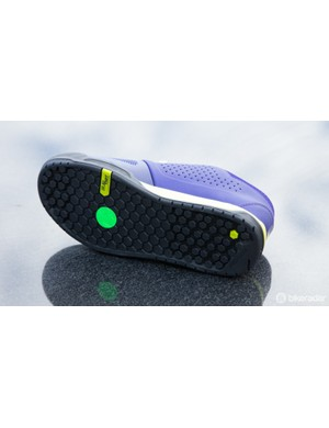 The sole was developed in Specialized's tyre lab. It's designed for ultimate grip with BMX-style platform pedals