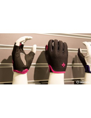 These Grail gloves generated plenty of talk. Specialized has concentrated gel padding in the middle of the palm, for the purpose of reducing pressure across the whole hand