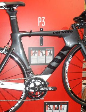 The Di2 equipped P3 (£4,499)
