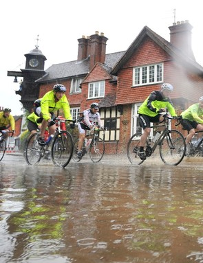 Did we mention that the RideLondon-Surrey was a little wet this year?
