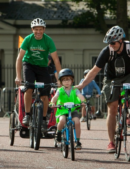 The RideLondon FreeCycle saw people and bikes of all shapes and sizes take part