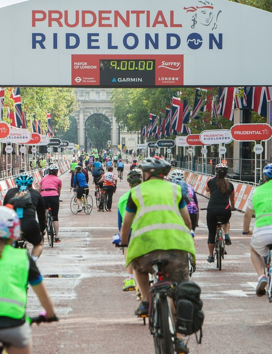 The chance to ride on traffic-free London roads was grabbed by 60,000 cyclists