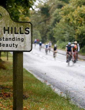 The route rolls through some of southern England's most beautiful scenery