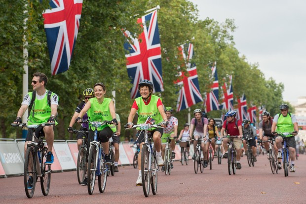 The Prudential RideLondon FreeCycle event is designed to get more people on their bikes