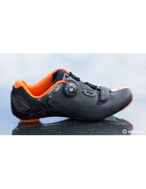 Specialized's Expert Road shoe (US$TBC / AU$249.95 / UK£TBC) features the new Boa IP1 Snap micro-adjust dial and thermobonded upper