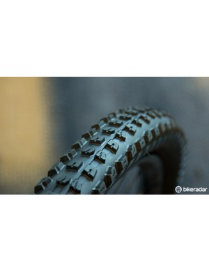 Also new for the enduro riders is the Specialized Butcher Grid. This tyre boasts downhill World Cup-proven traction, superb cut resistance and tubeless readiness, 26, 650b and 29in wheel sizes are all catered for in a 2.3in width