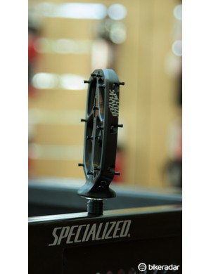 The Boomslang platform pedals are super low profile with just a 10mm thickness at the centre