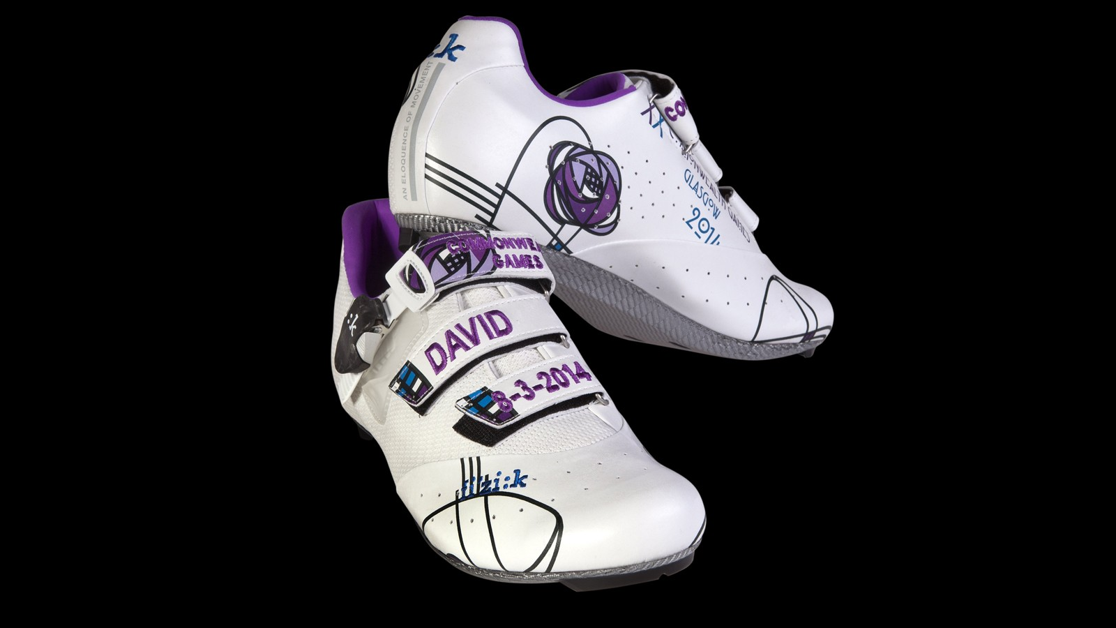 The Commonwealth Games shoe is inspired by one of Scotland's great designers, Charles Rennie Mackintosh