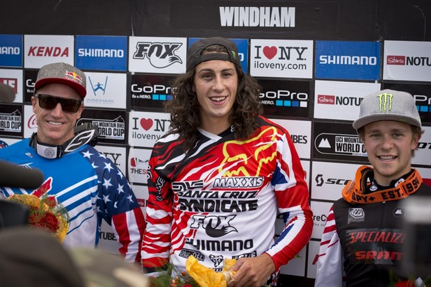 Two riders on the podium ain't bad, but Specialized Racing were gunning for a win