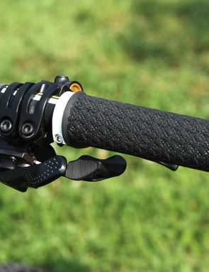 Look closely at the pattern on the PRO grips: it's Rachel, Gee, and Dan!