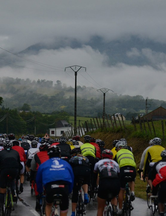 Since the first event in 2011, the Haute Route has been blessed with good weather. There have been exceptions, though, such as the final stage in the Pyrenees last year in the tough terrain of the French Basque Country