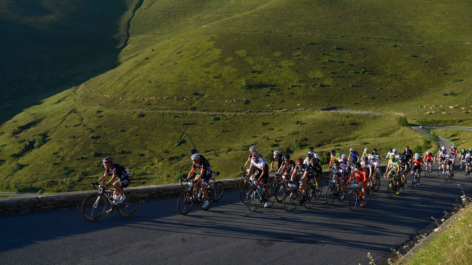 With around 20,000m / 65,000ft of climbing and descending spread over 7 stages, the Haute Route is one of the biggest tests in the amateur road cycling world