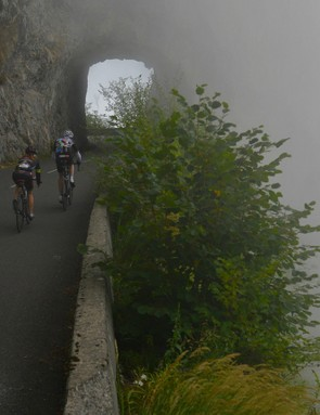 The race director is always quick to respond to weather that can make racing dangerous. Coming down the Aubisque last year, the race was neutralised because of thick fog. Only times on the climb would count
