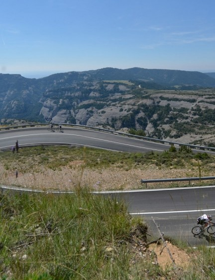 You come to understand just how much a mountain range can change from one end to another. From here, the Port del Comte in Catalunya, to the French Basque Country, couldn't be more different