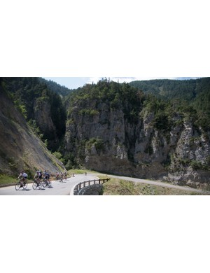 Riding the Haute Route is all about managing your reserves. You start day one with a full tank and it's got to last you a whole week. It's easy to get carried away on day one, but you can end up paying for it down the line