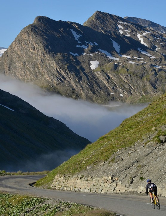 There are few more breathtaking sights that descending the Col d'Iseran early in the morning