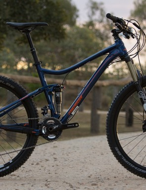The all new One-Twenty was the biggest news in the Merida 2015 range. Pictured is the top of the range One-Twenty 7.900 (US$TBC / AU$3,999 / UK£TBC)