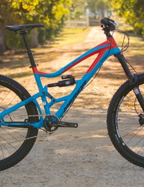 The refreshed 650B One-Sixty 7.900 (US$TBC / AU$4,999 / UK£TBC) looks primed for some technical enduro riding