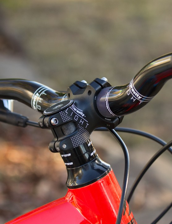 For 2015, the One-Sixty gets a shorter stem and wider bars