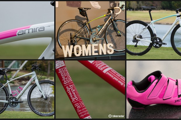The 2015 Specialized women's road range advances the brand's continual commitment to women's cycling