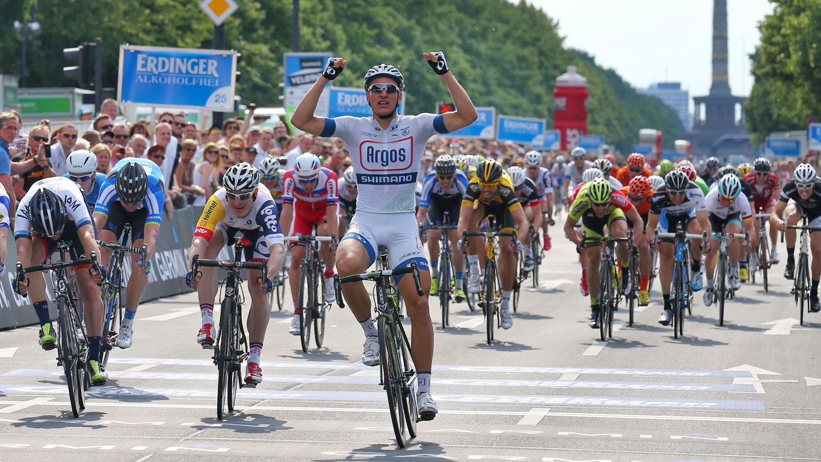 Pros such as Marcel Kittel and Andre Griepel have taken part in the Velothon Berlin event
