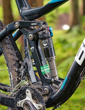 Fox suspension units front and rear are well matched, but run them in Trail