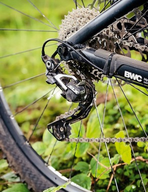 Shimano SLX is used throughout the bike to brilliant effect