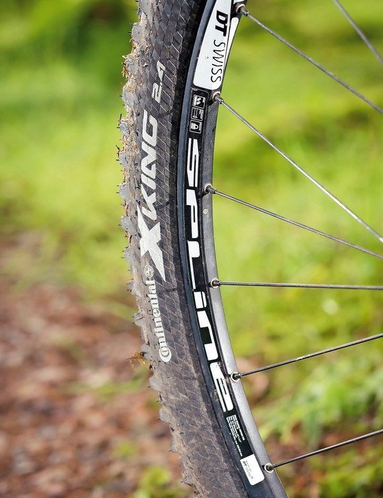 Conti tyres and DT Swiss rims were a sole disappointment