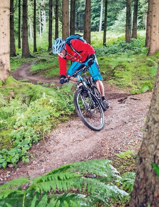 The Trailfox massively rewards hard riding