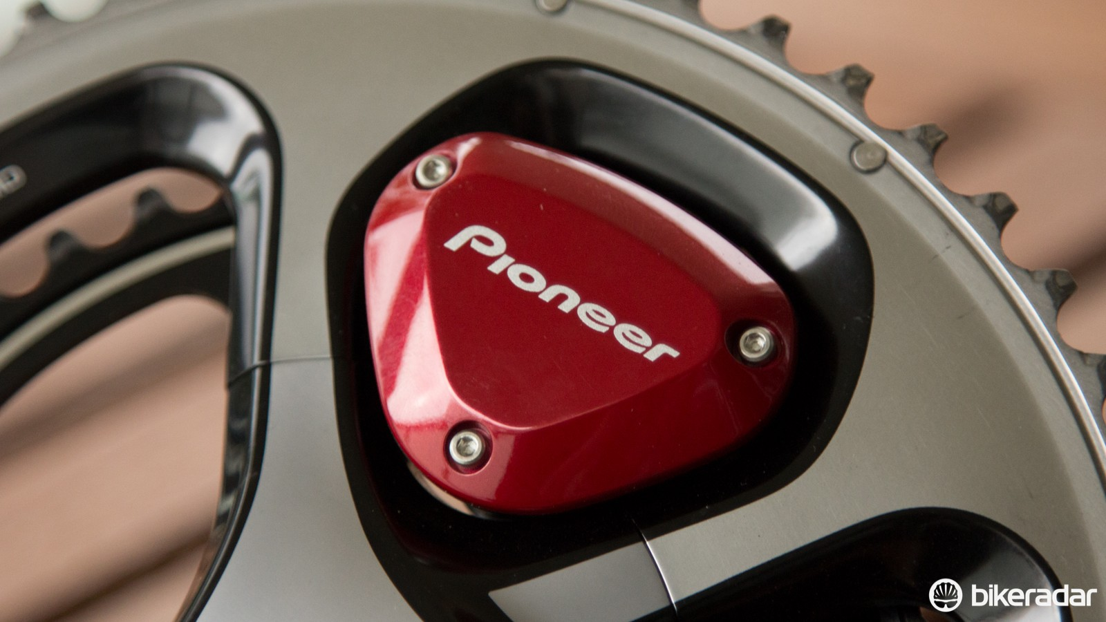This red pod cap is easily replaceable, and Pioneer also includes a more subtle metallic grey option