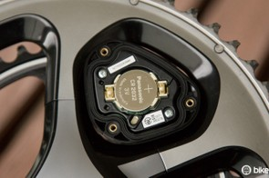 A look behind the driveside sensor pod cover