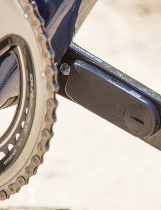 Another look at the Pioneer Power Meter Gen-2 once set up on a bike