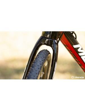 The new Merida Cyclo Cross offers plenty of clearance