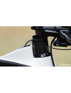 Aero spacers allow for a huge range of base-bar height adjustment